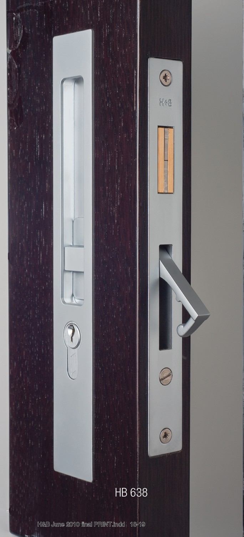 Hardware Direct Hallidaybaillie 637 Sliding Door Lock 250mm